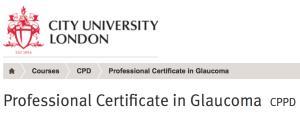Mr Dan Lindfield City University Glaucoma